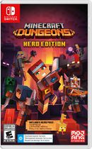 Jeu vidéo Minecraft Dungeons Hero Edition pour (Nintendo Switch)