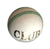 Graddige White Club Cricket Ball