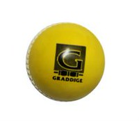 Graddige Yellow Plastic Cricket Ball