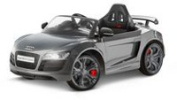 KidTrax Audi R8 Spyder GT 6 Volt Powered Grey Ride On