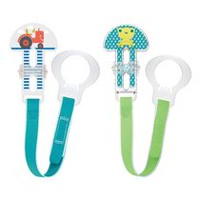 MAM Boys' Pacifier Clips