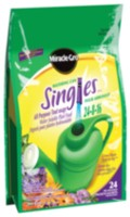 Miracle-Gro Watering Can Singles Water Soluble Plant Food Packets
