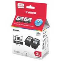 Canon PG-210XL Black Ink (2973B020) - 2 Pack