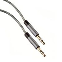 blackweb Silver/Grey AUX Cable
