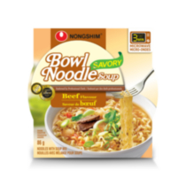 Nongshim Savory Beef Flavoured Bowl Noodle Soup