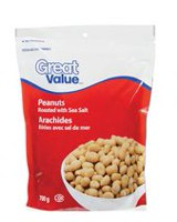 Great Value Cocktail Peanuts Roasted & Salted