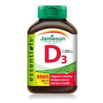 Jamieson Vitamin D3 1,000 IU Tablets
