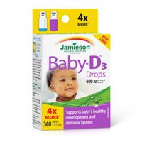 Jamieson Baby-D™ Vitamin D3 400 IU Droplets