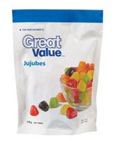 Great Value Jujubes Candy Bag
