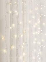 Curtain Lights Cascading LED Lighting Warm  White  lights
