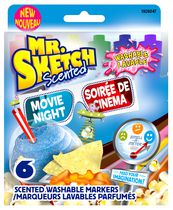 Mr. Sketch Movie Time Scented Washable Markers