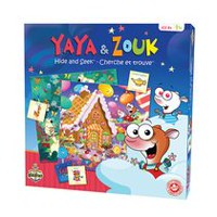 Editions Gladius Yaya & Zouk Hide & Seek Game - Bilingual