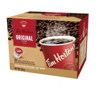 Tim Hortons Original Blend Coffee - 30 Single Serve Coffee Cups