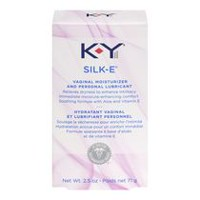 K-Y Silk-E Vaginal Moisturizer and Sexual Personal Lubricant