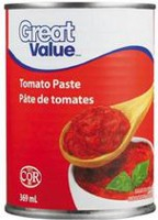 Pâte de tomates de Great Value