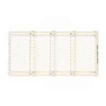 North States Extra Wide Baby Gate - Ivory