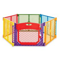 North States Superyard Colorplay Ultimate Baby Gate - Multi-colour