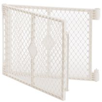 North States  Superyard Ultimate 2-Panel Extension Baby Gate - Ivory