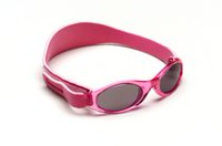 Banz Adventure Baby Banz Sunglasses - Flamingo Pink - 0-2 years