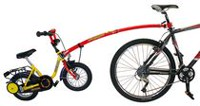 Children's Red Trailer Tow Bar
