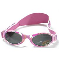 Banz Adventure Baby Banz Sunglasses - Pink Diva Camo - 0-2 years