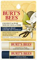 Burt's Bees Coconut & Pear and Vanilla Bean Lip Balm