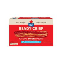 Maple Leaf Ready Crisp Fully Cooked Less Salt Natural Bacon Slices