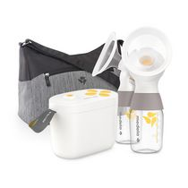 Medela Pump In Style maxFlow Technology, Closed System Quiet Portable Double Electric Breastpump, with PersonalFit Flex Breast Shields