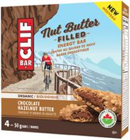 CLIF Bar Nut Butter Organic Chocolate Hazelnut Energy Bars