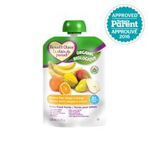 Parent's Choice Organic Baby Food Puree - Banana, Pear, Mango, & Orange
