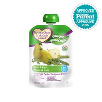 Parent's Choice Organic Baby Food Puree - Pear & Pea