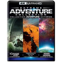 Extreme Adventure Collection: Tornado Alley / Grand Canyon Adventure / Hidden Universe (4K Ultra HD)