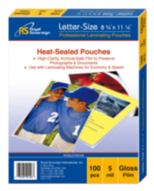 Royal Sovereign Heat-sealed Laminating Pouches, Letter Size
