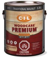 CIL Woodcare Exterior Wood Stain Semi-transparent Traditional Walnut