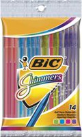 BIC Shimmers Assorted Pens