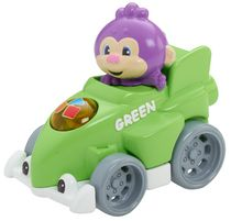 Fisher-Price Laugh and Learn Smart Speedsters, Monkey - French Edition