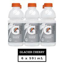 Gatorade Frost Glacier Cherry Sports Drink, 591 mL Bottles, 6 Pack