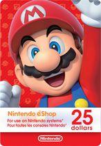 $25 Nintendo eShop Gift Card [Digital Code]