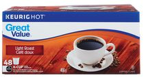Café doux Keurig de Great Value