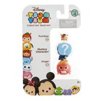 Disney Tsum Tsum Anger/Mystery Figure/Pumba 3 Pack Figures