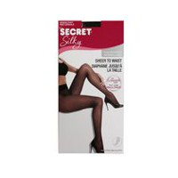 Secret Silky Women's Sheer to Waist Pantyhose