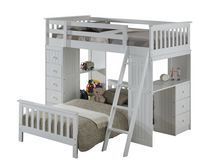 Broyhill Kids Marco Island Twin Loft & Twin Bed Collection - White