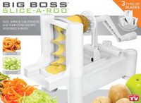 Emson BIG BOSS SLICE-A-ROO 3-in-1 Slicer