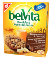 BelVita Banana Oatmeal & Chocolate Breakfast Biscuits