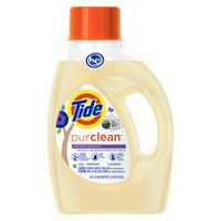 Tide PurClean Liquid Laundry Detergent for Regular and HE Washers, Honey Lavender Scent