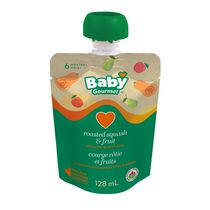 Baby Gourmet Roasted Squash and Fruit Organic Baby Food Puree