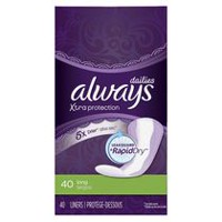 Always Xtra Protection Daily Liners, Long