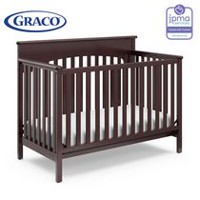 Graco Lauren 4-In-1 Convertible Crib - Espresso