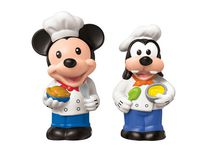 Fisher-Price Little People Magic of Disney Mickey and Goofy Buddy Pack