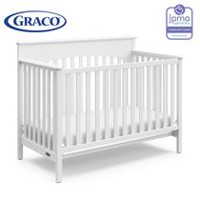 Graco Lauren 4-In-1 Convertible Crib White